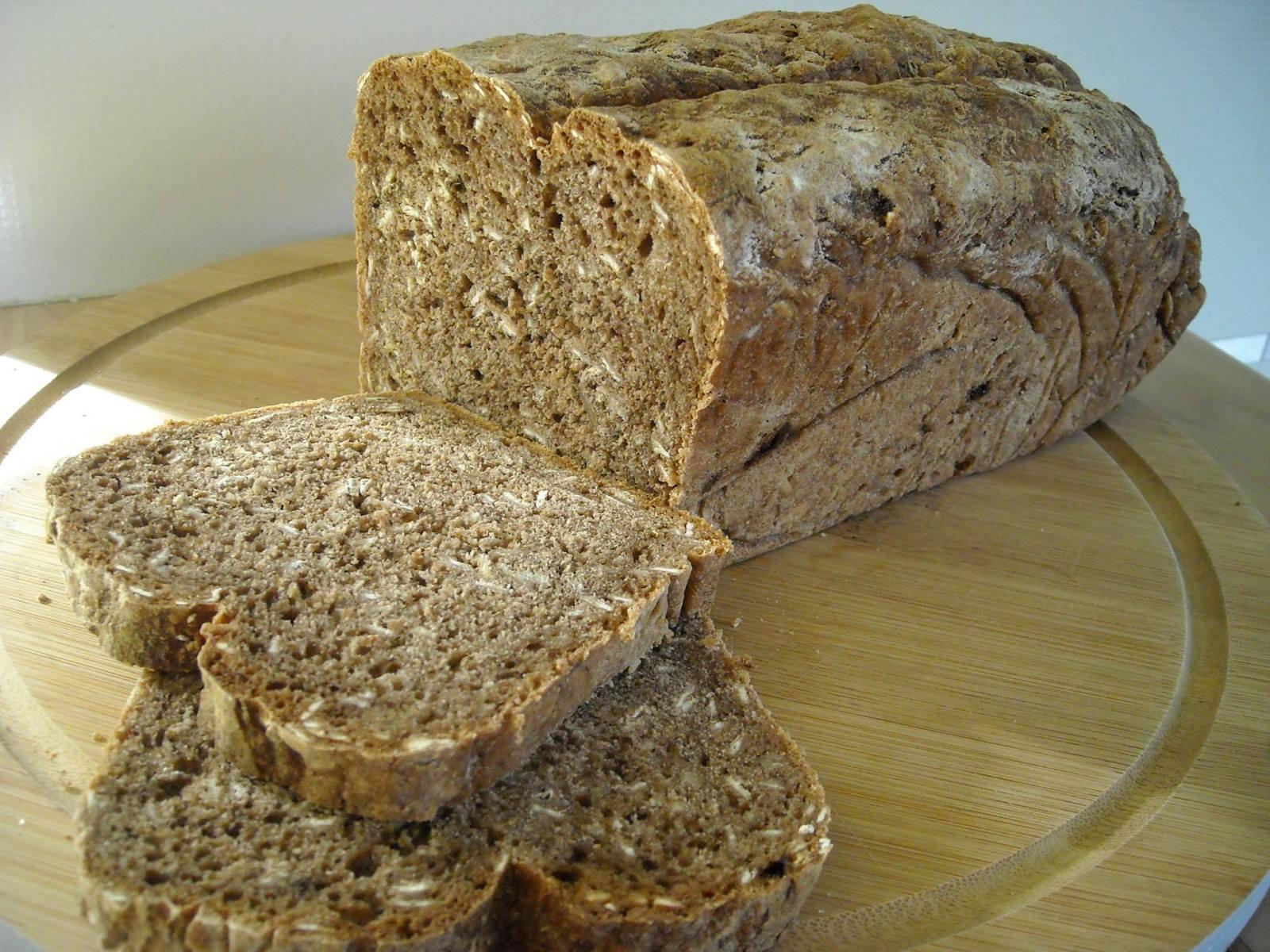 Chleb rosyjski z kakao i kawą
