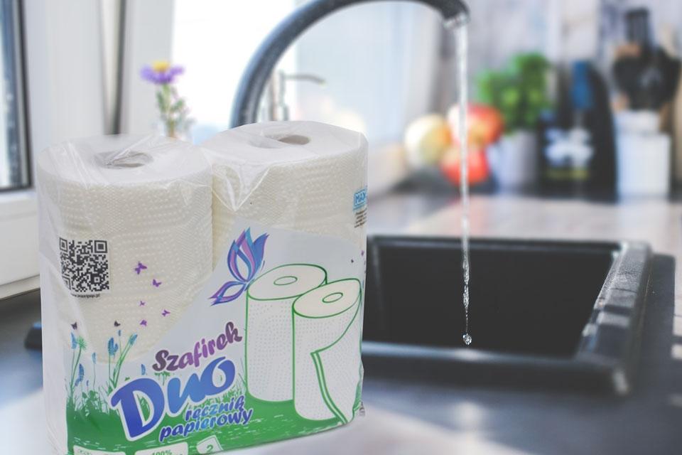Ręczniki papierowe w kuchni