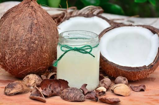 domowy budyń kokosowy